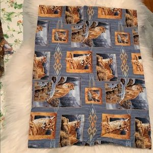Set of 4 animal pillow cases